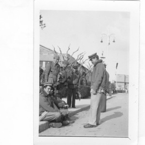 Cap.Calistri e Cap. Visconti, scalo nel volo verso la Tunisia, fine marzo-inizio aprile 1943