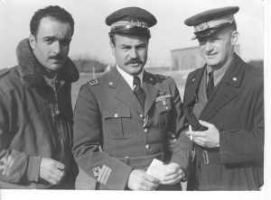 Campo formido genn-aprile1944, I° Gruppo Caccia - Fioroni,Visconti e Diappi