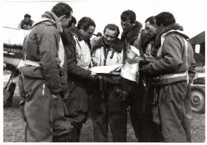 Ten.Sajeva, Ten.Cartosio, S.M.Lajolo ,S.M.Marconesin, S.M.Magnaghi,Magg.Visconti, Ten.Weiss